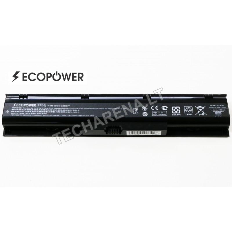 Hp PR08 Probook 4730s 4740s EcoPower 8 celių 4400mah baterija