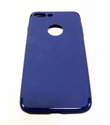 Tamsiai mėlynas silikoninis dėklas iPhone 7 Plus