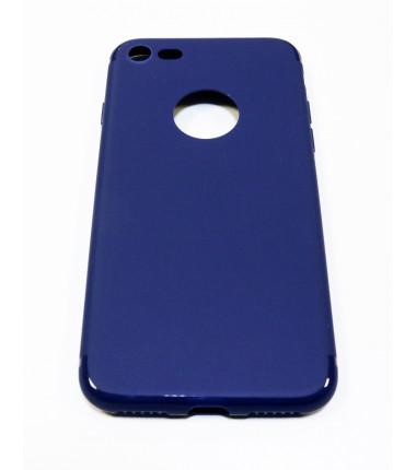 Tamsiai mėlynas silikoninis dėklas iPhone 7
