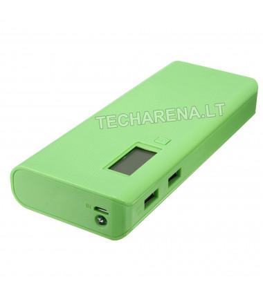 Kompaktiška išorinė baterija (powerbank) Techarena 20000 mah