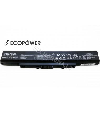 Asus A42-U31 EcoPower 8 celių 4400mah baterija