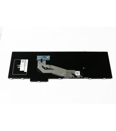 """Dell Latitude E5540 US klaviatūra be """"trackpointo"""" ir pašvietimo"""