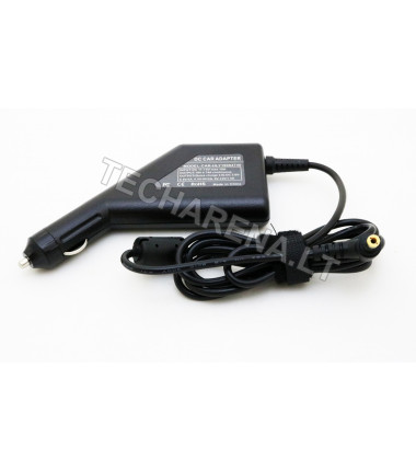 Asus, Toshiba 19v 4.74a 5.5*2.5 automobilinis įkroviklis 90w + USB