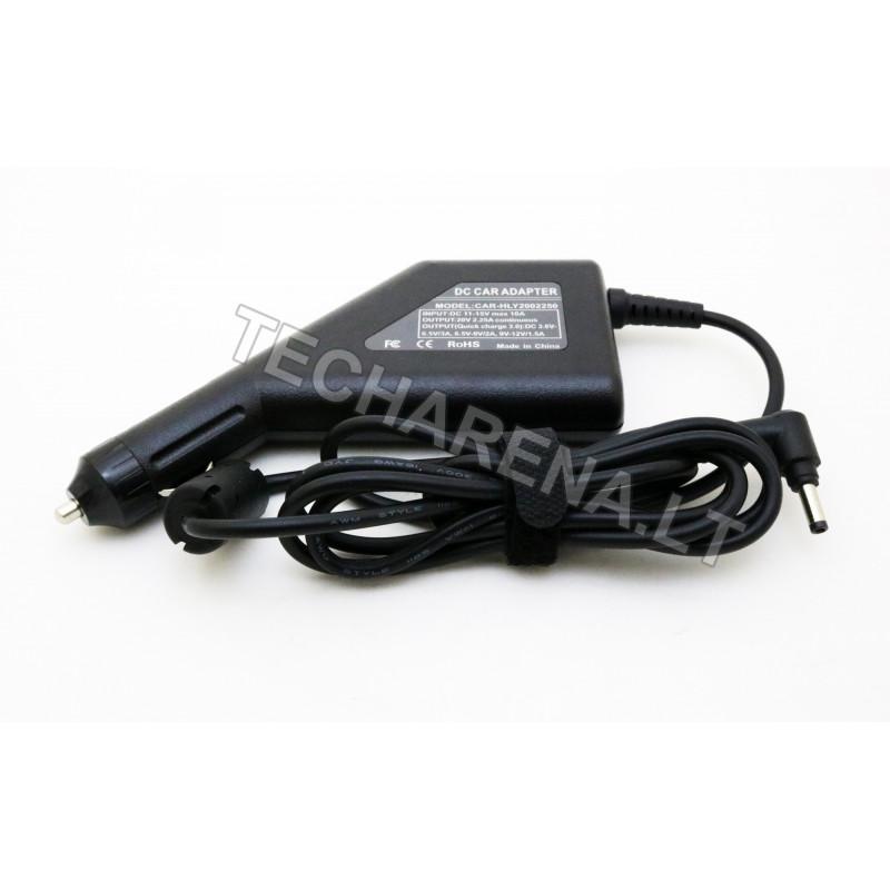 Lenovo 20v 2.25a 4.0*1.7 automobilinis įkroviklis 45w + USB
