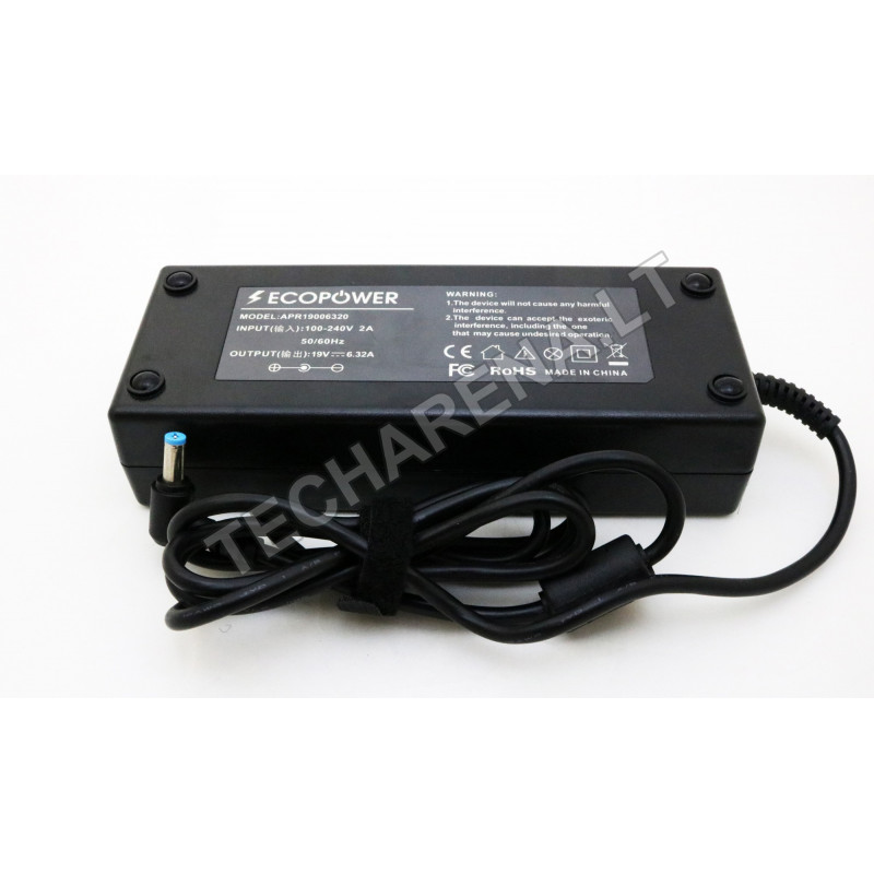 Acer 19v 6.32a 5.5*1.7 EcoPower įkroviklis 120w