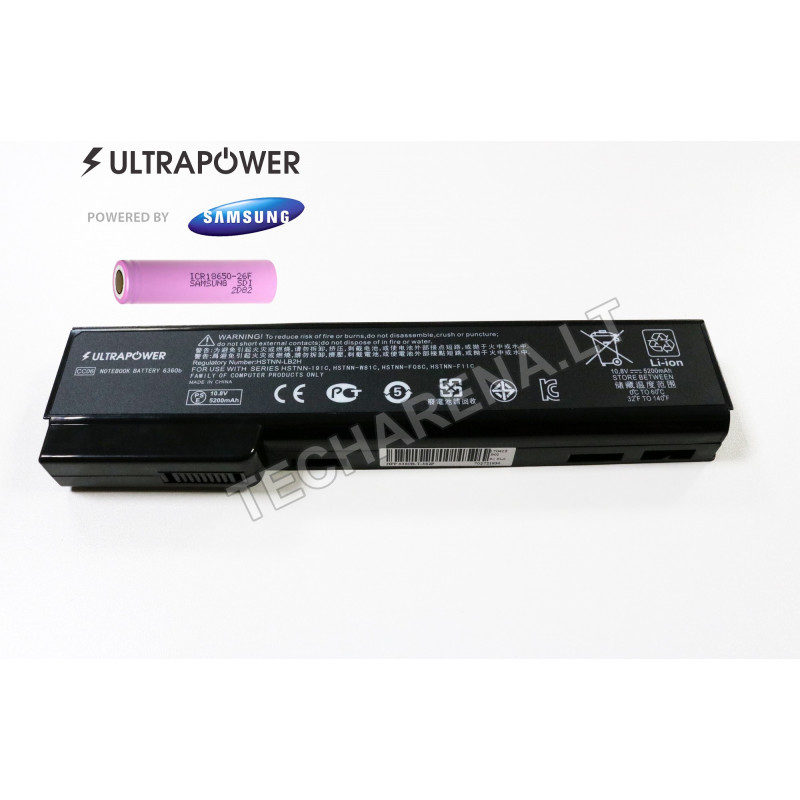 Hp CC06 CC06XL UltraPower 6 celių 5200mah baterija