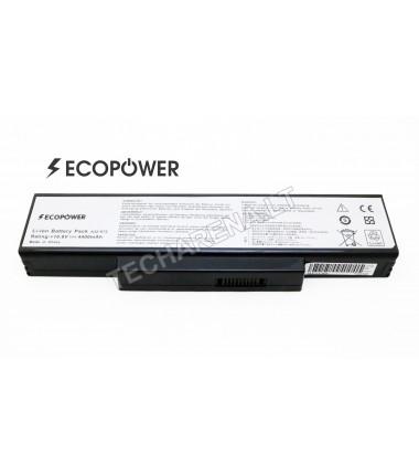 Asus A32-K72 A32-N71 EcoPower 6 celių 4400mah baterija