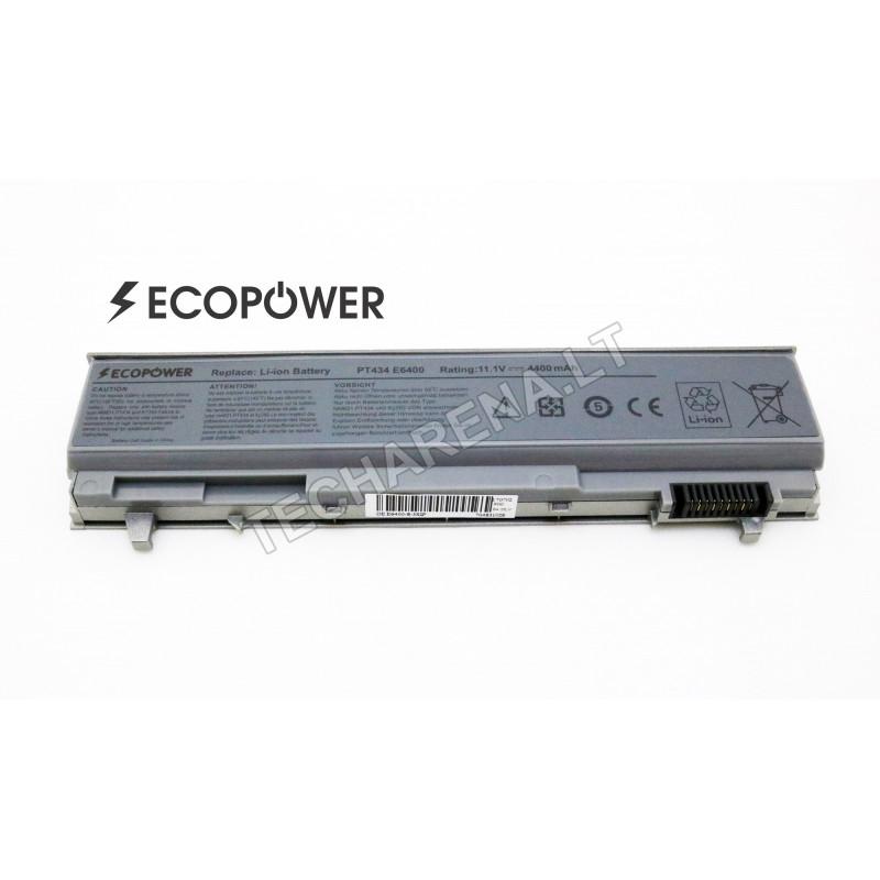 Dell PT434 Latitude E6400 E6410 EcoPower 6 celių 4400mah baterija