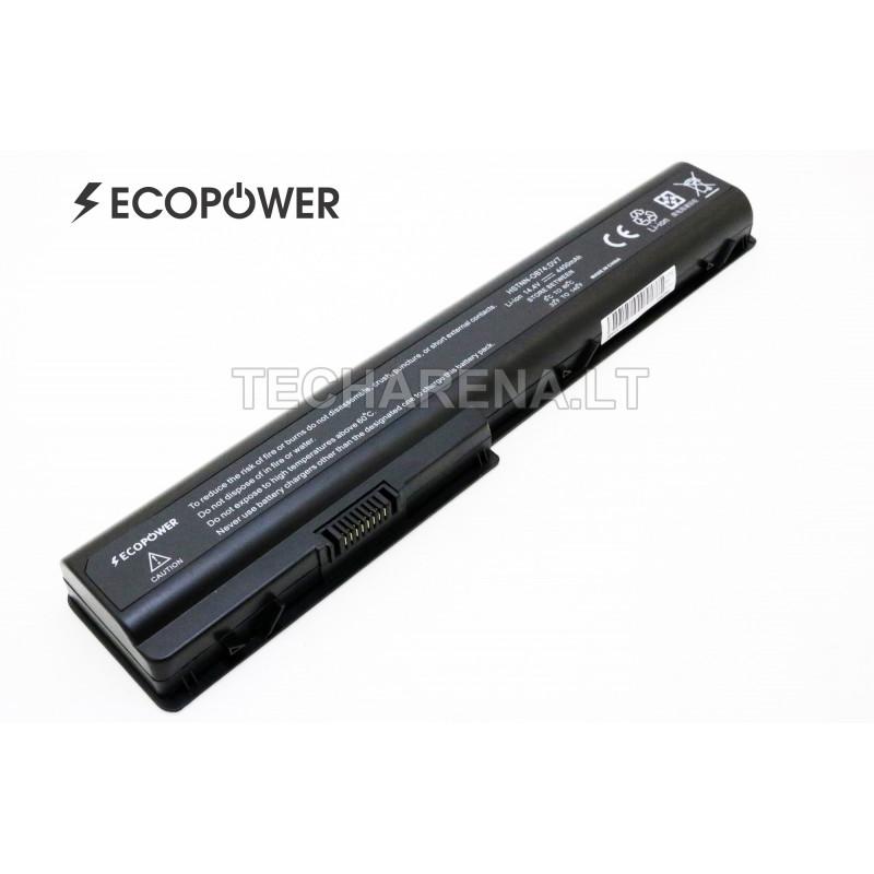 Hp HSTNN-DB75 HSTNN-IB75 DV7 HDX 18 EcoPower 8 celių 4400mah baterija