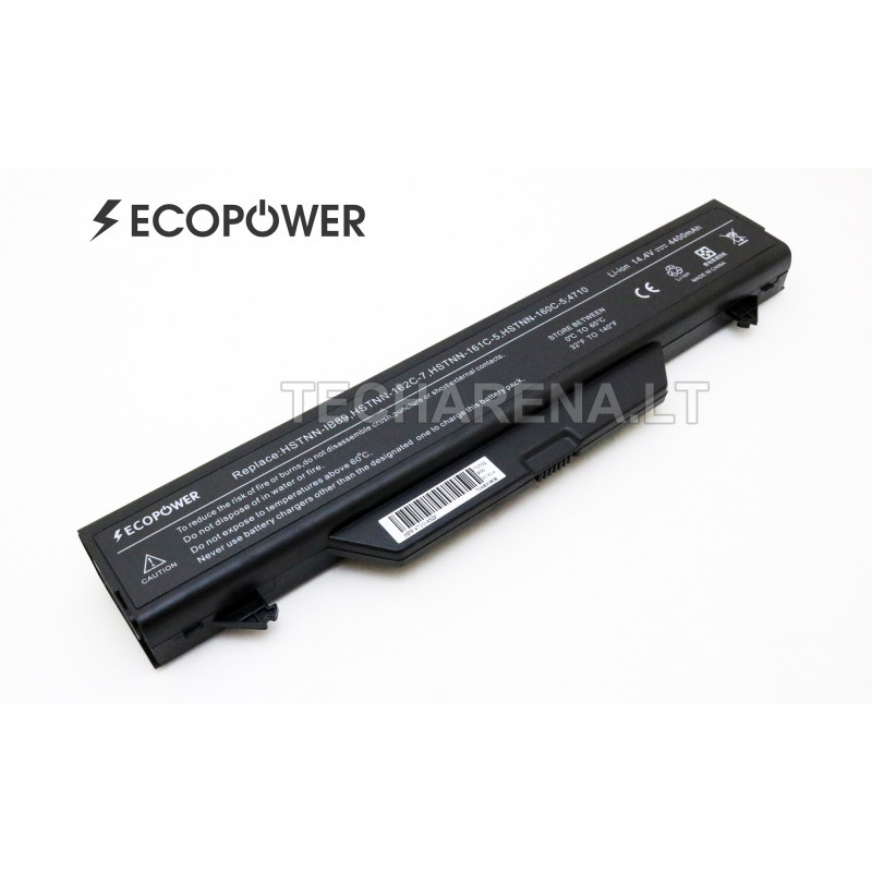 HP HSTNN-OB89 ZZ08 EcoPower 8 celių 4400mah baterija