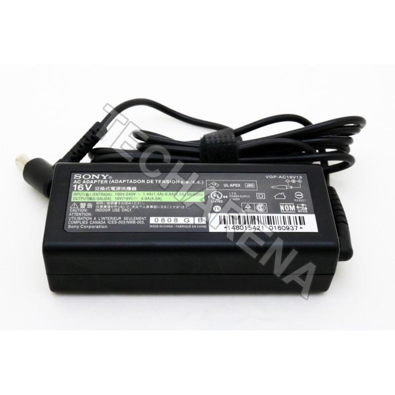 Originalus Sony VGP-AC16V13 PCG-Z1T/P PCGA-AC16V6 PCGA-AC16V4 VGP-AC16V14 16v 4a 65w įkroviklis