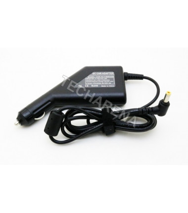 Asus, Toshiba 19v 3.42a 5.5*2.5  automobilinis įkroviklis 65w + USB