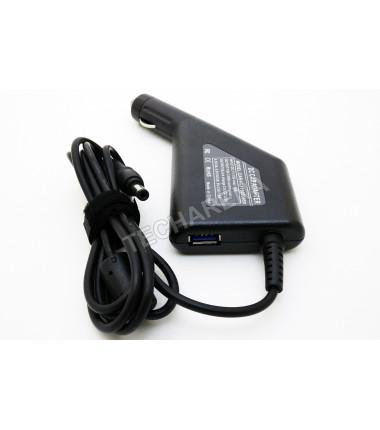 Toshiba 19v 3.95a 5.5*2.5 automobilinis įkroviklis 75w + USB