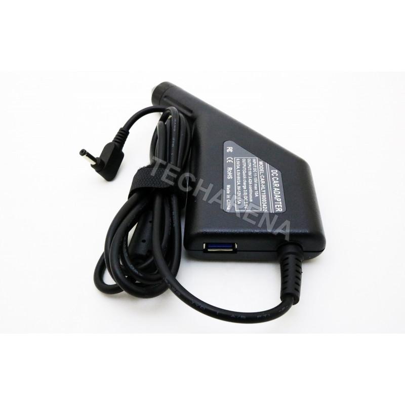 Asus Zenbook Ux330Ca Ux310Uq Ux310Ua Ux30S Ux21A 19v 3.42a 4.0*1.35 automobilinis įkroviklis 65w + USB
