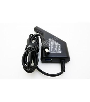 Hp 18.5v 3.5a 7.4*5.0 (su adata) automobilinis įkroviklis 65w + USB