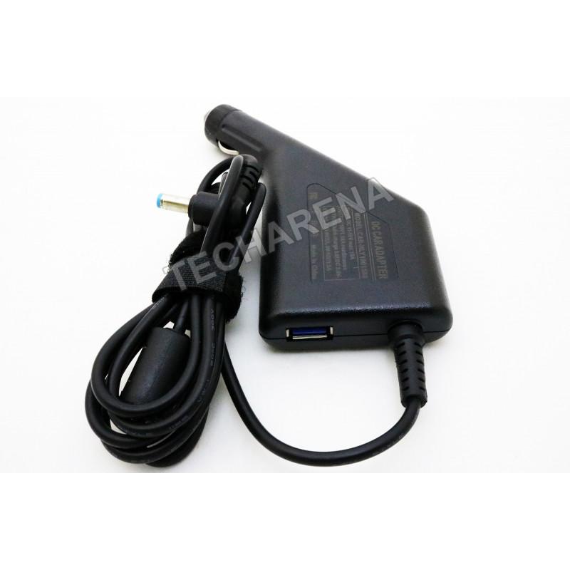 Acer Dell Gateway Packard Bell 19v 1.58a 5.5*1.7 automobilinis įkroviklis 30w + USB