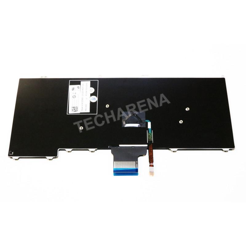 """Dell Latitude E7240 E7440 US klaviatūra su """"trackpointu"""""""
