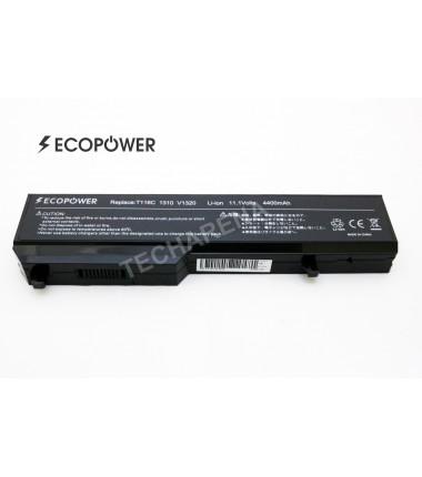 Dell baterija K738H T116C Vostro 1310 1320 1510 1520 2510 EcoPower 6 celių 4400mah