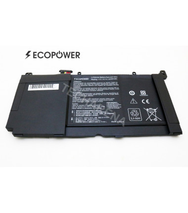 Asus A551LN K551LB K551LN R553LN S551LA S551LB S551LN A42-S551  EcoPower  3 celių 4400mah baterija