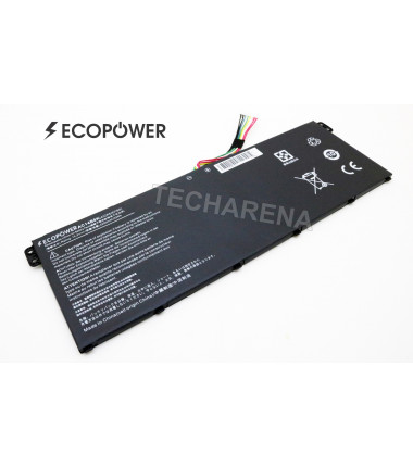 Acer AC14B8K KT.0040G.004 Chromebook CB3-111 C810 C910 3220 EcoPower 4 celių 2200mah baterija