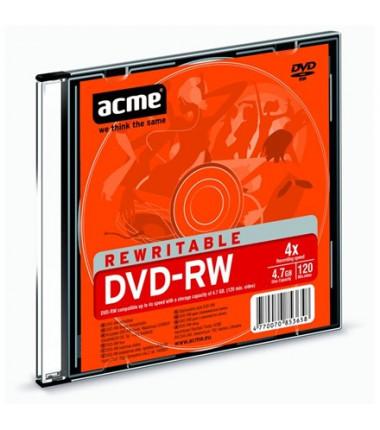 """ACME DVD-RW 4x """"Slim"""" dėžuteje"""
