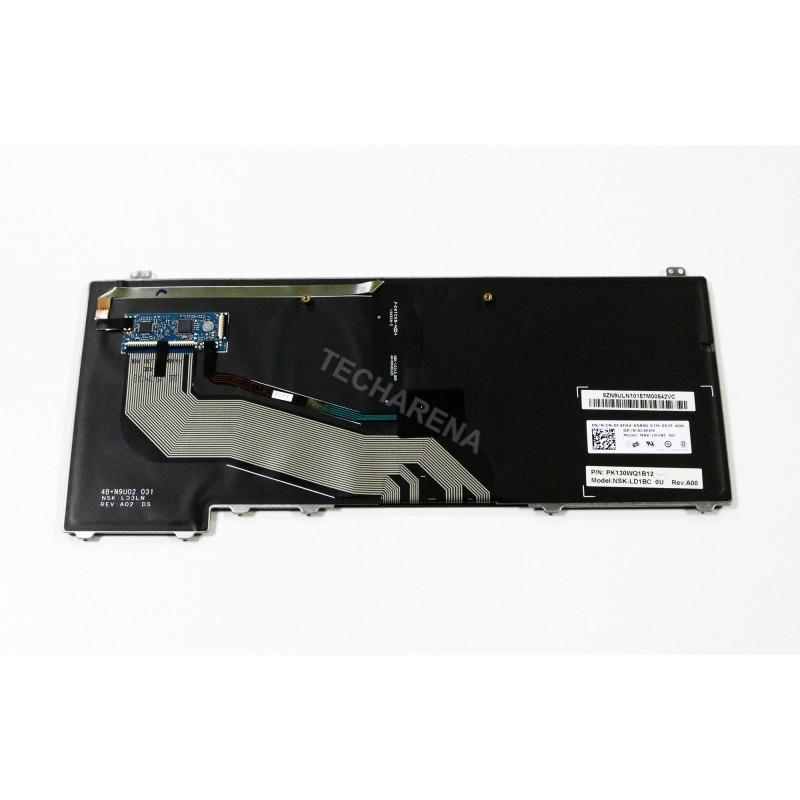 "Dell Latitude E5440 UK klaviatūra su pašvietimu ir ""trackpointu"""