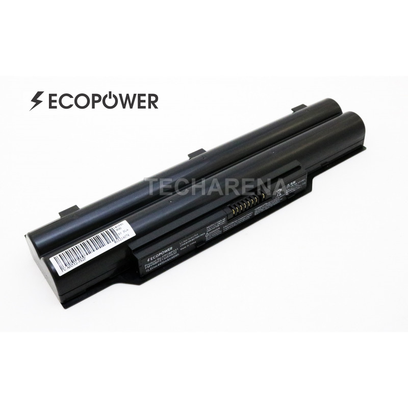 Fujitsu A532 AH532 FMVNBP213 FPCBP331 EcoPower 6 celių 4400mah baterija