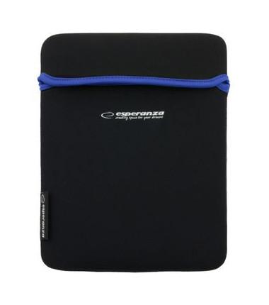 Planšetės dėklas ESPERANZA 10.1'', juodas/mėlynas