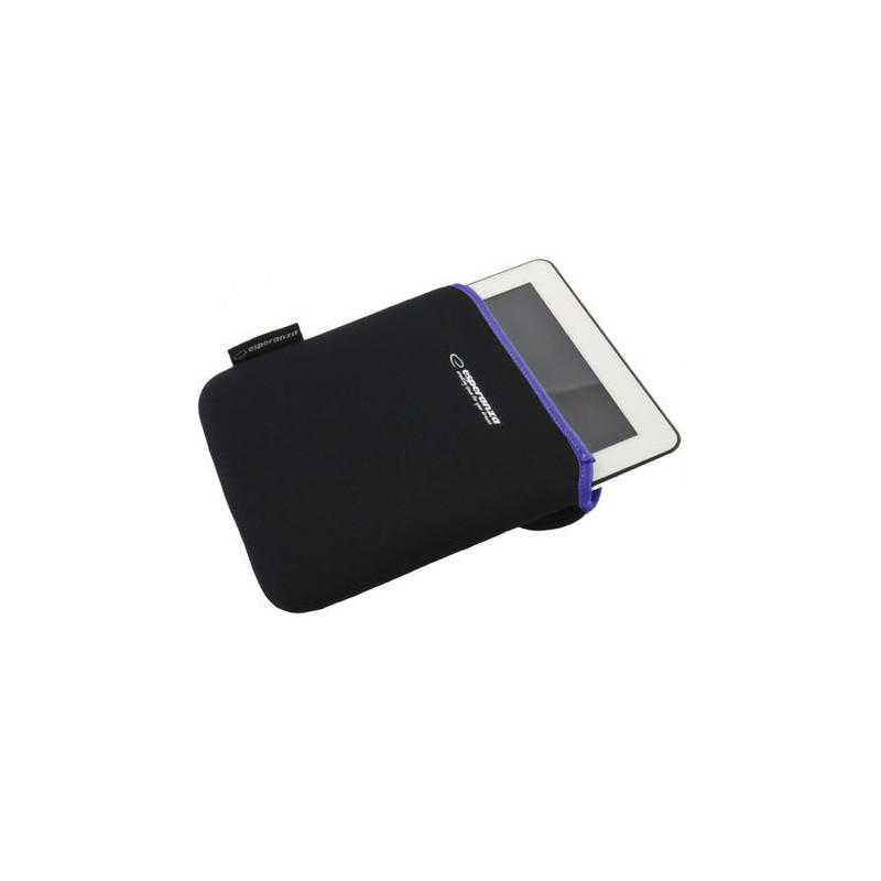 Planšetės dėklas ESPERANZA 10.1'', juodas/violetinis