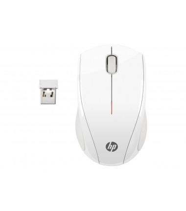 HP X3000 balta belaidė pelė