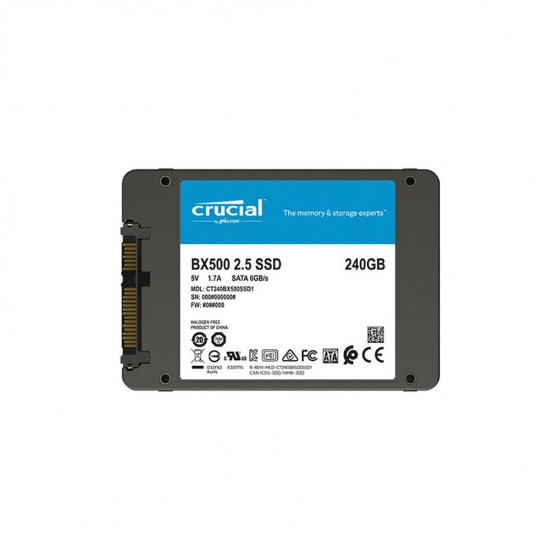 """Crucial BX500 240GB SSD HDD 2.5\"""""""