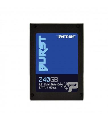 Patriot Burst PBE240GS25SSDR 240GB SSD HDD 2.5 SATAIII