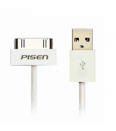 Apple Ipod 1 2 3 / Iphone  3g 3gs 4 4s / Ipad 1 2 3 USB 1.5 m. laidas