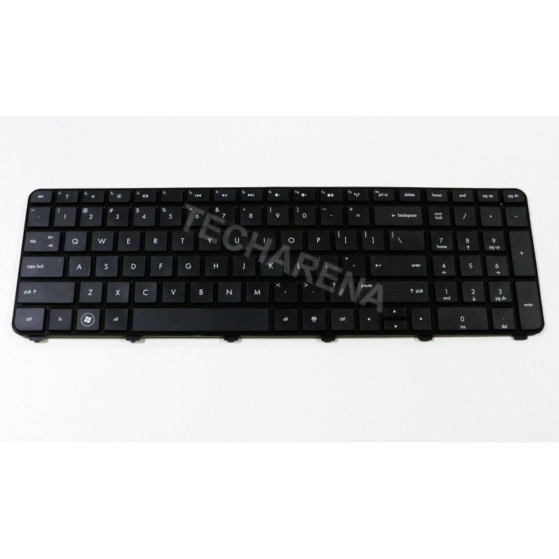 HP Pavilion DV7-6000 DV7-6100 DV7-6200 US klaviatūra su rėmeliu