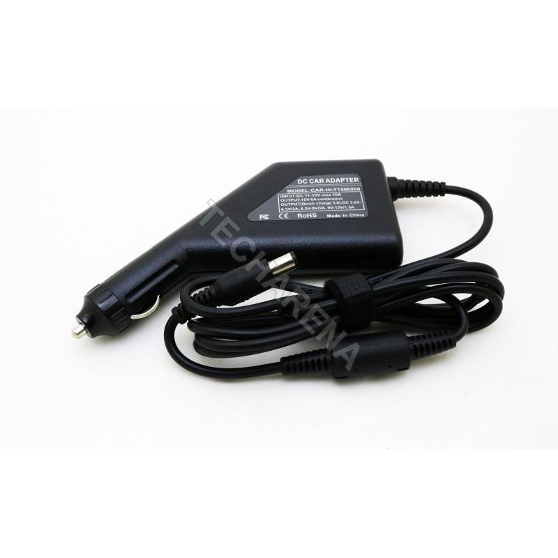 Toshiba 15v 6a 6.3*3.0 automobilinis įkroviklis 90w + USB