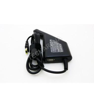 Lenovo 20v 2.25a stačiakampis antgalis su adata automobilinis įkroviklis 45w + USB