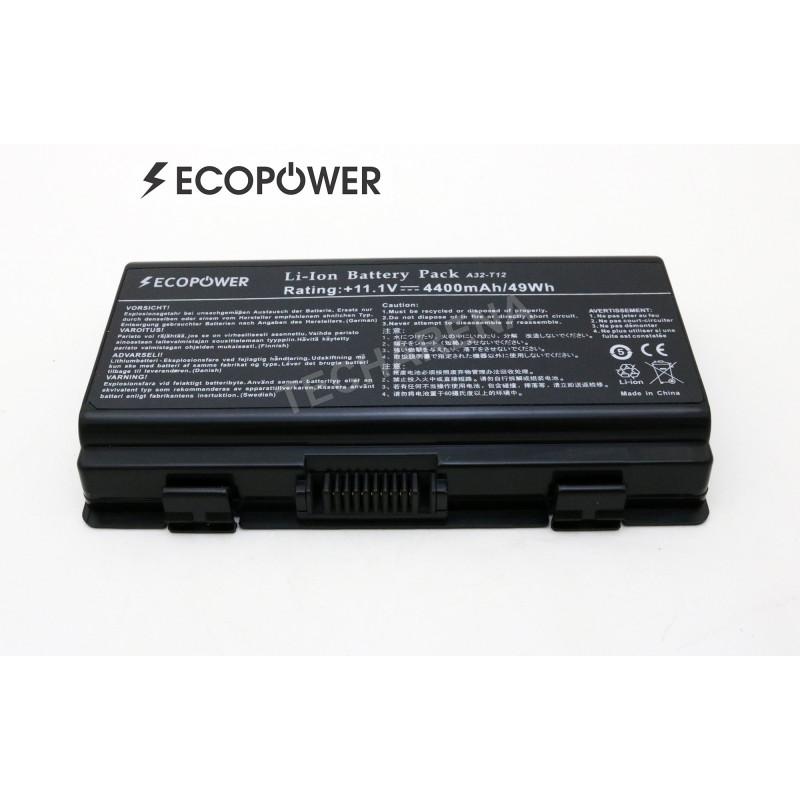 Asus Packard Bell A32-X51 A32-T12 X51 EcoPower 6 celių 4400mah baterija