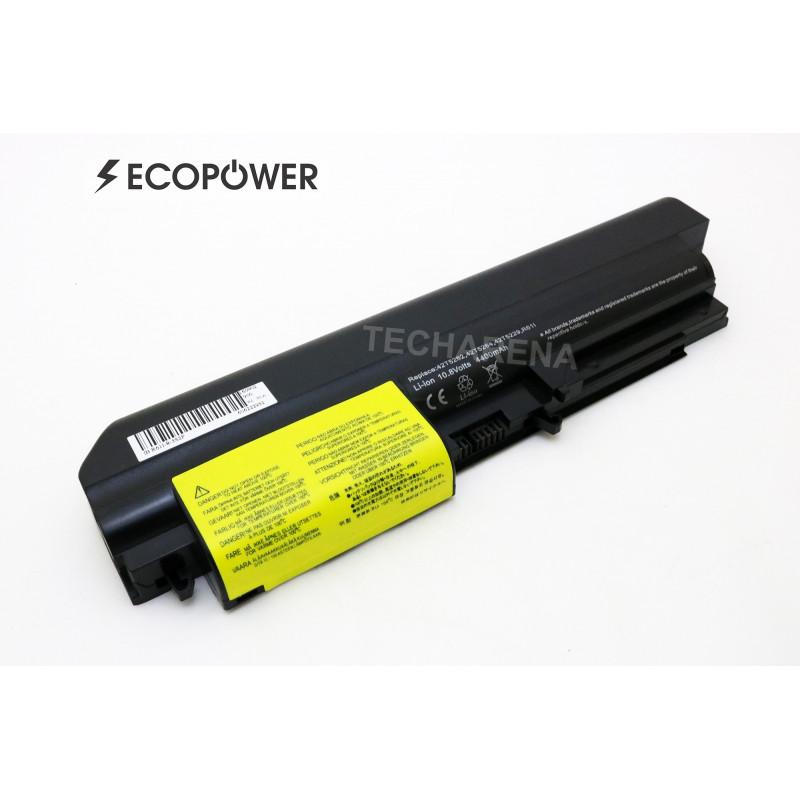 Lenovo 42T5263 42T5265 EcoPower 6 celių 4400mah baterija