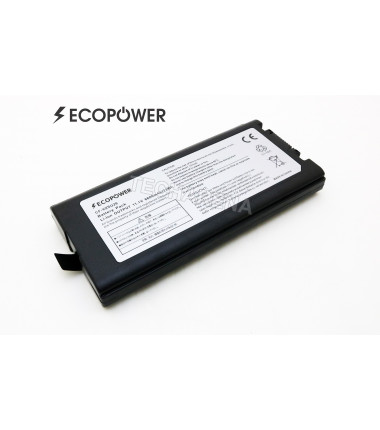 Panasonic CF-VZSU29 Toughbook CF-29 CF-51 CF-52 EcoPower 9 celių 6600mah baterija