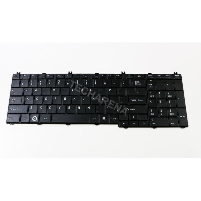 Toshiba Satellite C650 C660 C660D C665 L750 L755 US klaviatūra