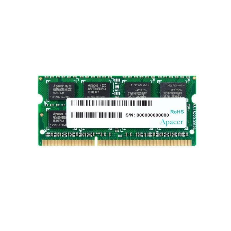 Apacer DDR3 RAM Sodimm 8GB 1600mhz CL11 1.35V
