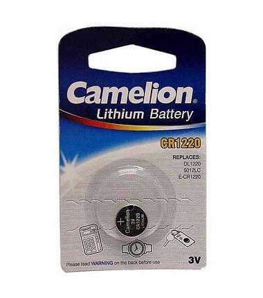 Camelion CR1220/DL1220/5012LC/E-CR1220 3V