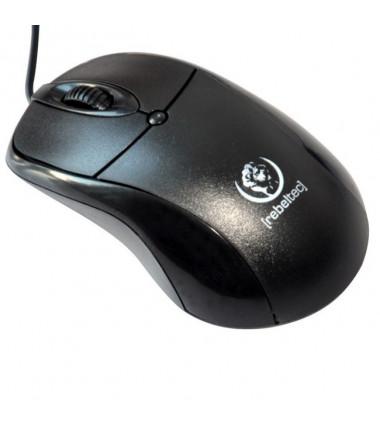 Rebeltec USB Duke optinė pelė, juoda