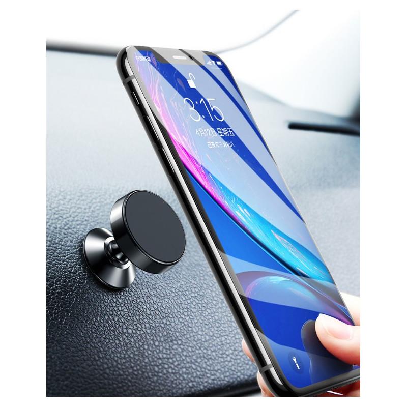 Automobilinis magnetinis telefono laikiklis, juodas