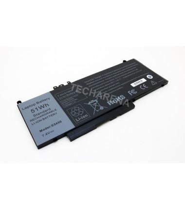 Dell 8V5GX G5M10 Latitude E5450 E5550 HQ 4 celių baterija 51wh