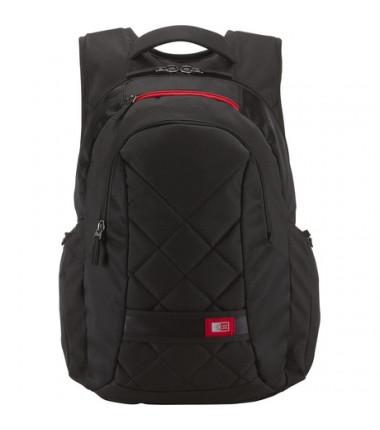 """Case Logic DLBP116K Fits up to size 16 """", Black, Backpack"""