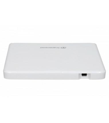 Išorinis optinis USB įrenginys Transcend 8X DVD Writer White ULTRA SLIM 13.9mm