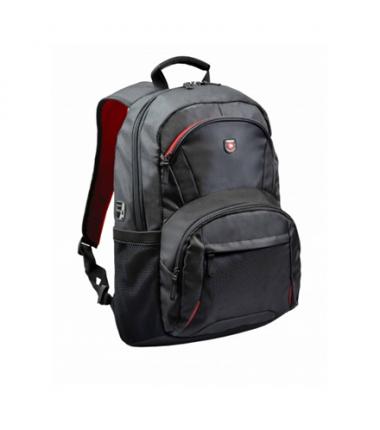 """Port Designs Houston Fits up to size 15.6 """", Black, Shoulder strap, Backpack"""