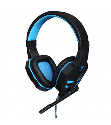 Aula Prime Gaming Headset 2 x 3.5 mm, USB (for illumination), Built-in microphone