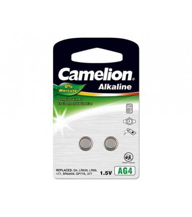 Camelion AG4/LR66/LR626/377, Alkaline Buttoncell, 2 pc(s)